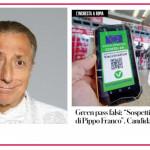 Pippo Franco ha un green pass falso? Indagato il suo medico