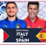 Italia-Spagna stasera su Rai 1 per la semifinale di Nations League
