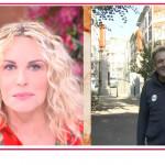 Antonella Clerici confonde il suo ospite con il suo primo fidanzato