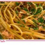 Trenette al mascarpone e salmone di Zia Cri, la ricetta