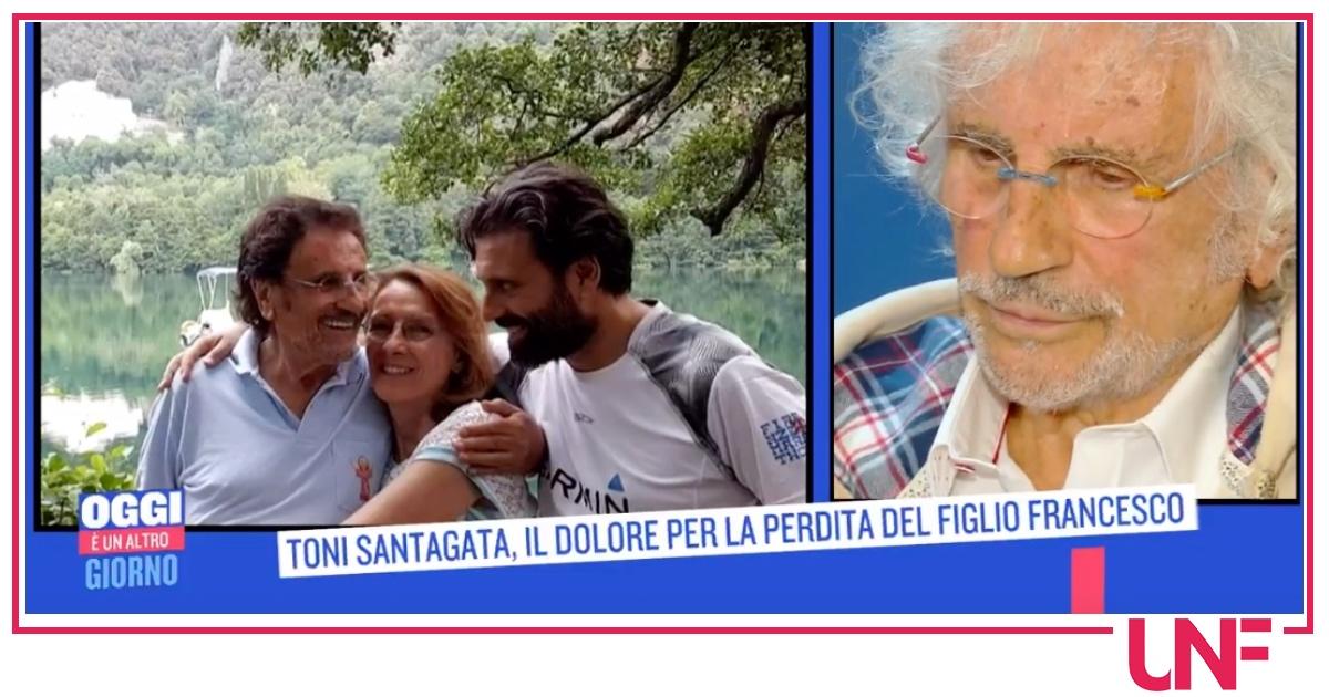 """Toni Santagata, un anno fa la morte di suo figlio: """"Non mi ha mai fatto capire"""""""