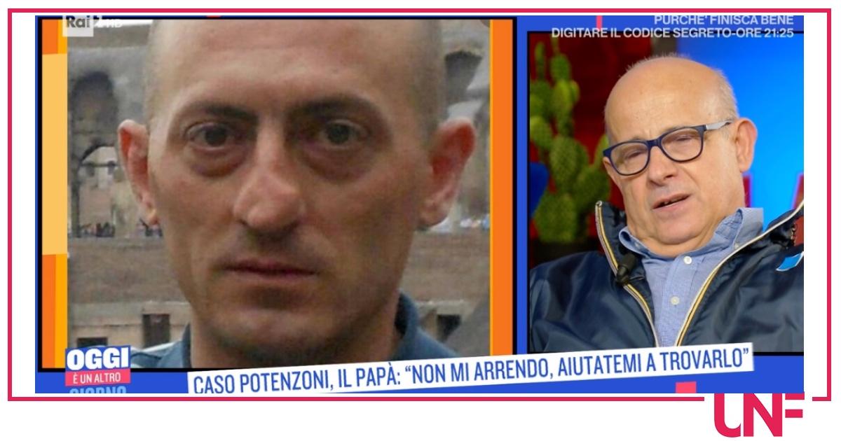 """Il padre di Daniele Potenzoni non si arrende: """"Ma la sera piango anche io"""""""