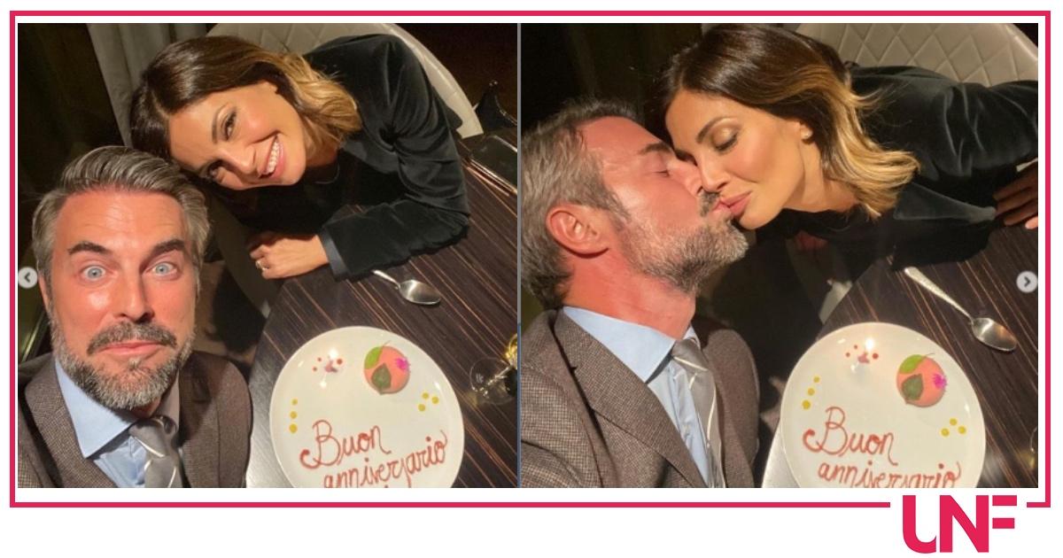 Alessia Mancini e Flavio Montrucchio hanno festeggiato l'anniversario in un posto speciale