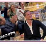 Gran festa ieri sera per Antonella Clerici, Fulvio Marino e la famiglia di E' sempre mezzogiorno