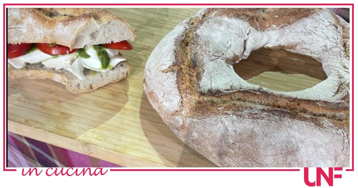Pane con pasta di riporto, la ricetta di Fulvio Marino