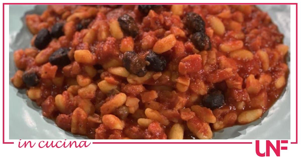 Cavatelli pomodoro e baccalà, la ricetta di Caterina Ceraudo