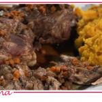 Ricette Daniele Persegani: stinco di maiale e purea di zucca