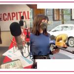 """Le lacrime di Ambra Angiolini in radio: """"Grazie, sto vedendo tanta bellezza"""""""