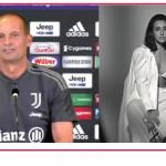 Massimiliano Allegri risponde sull'addio ad Ambra Angiolini