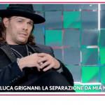 """Gianluca Grignani: """"Non sono stato un buon marito ma sono stato onesto"""""""
