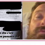 Francesco Facchinetti mostra la denuncia contro McGregor, ma come sta?