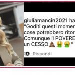 Elena Santarelli chiede aiuto contro chi augura a suo figlio di ammalarsi di nuovo