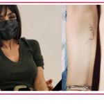 Il primo tatuaggio di Ambra Angiolini celebra il legame con sua figlia Jolanda