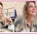 """Claudia Gerini giustifica il tradimento: """"Siamo fatti di carne"""""""