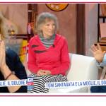 Serena Bortone commossa dal dolore di Toni Santagata e sua moglie