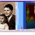 Fabio, il fratello di Fabrizio Frizzi si emoziona rivedendo le immagini insieme