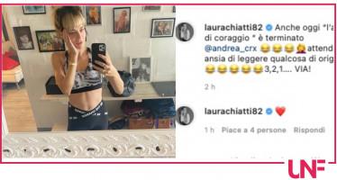 Laura Chiatti risponde ai follower